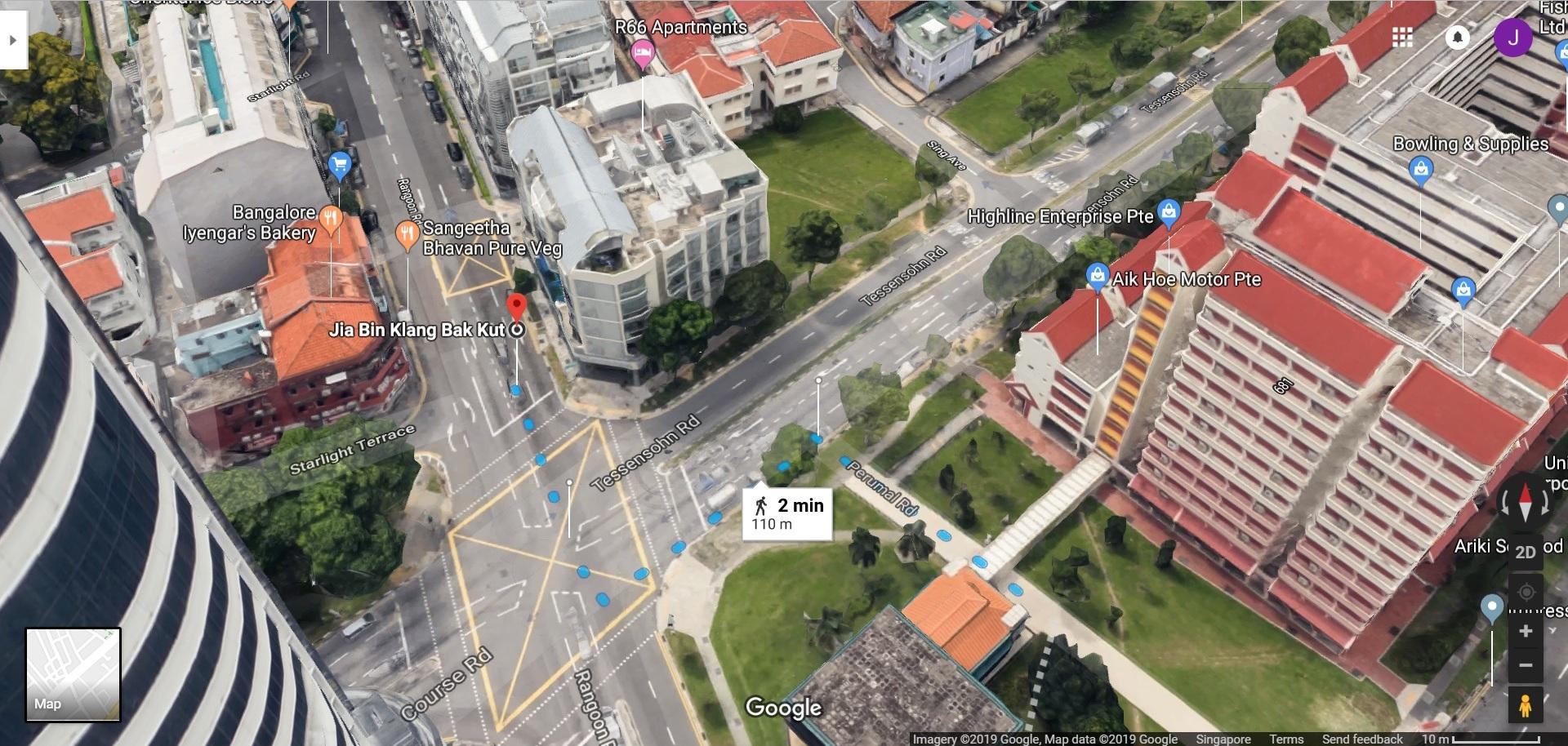 Jia Bin Bak Kut Teh 3D Location